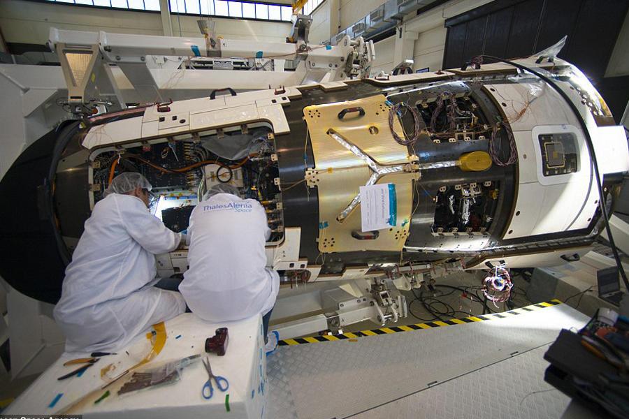欧洲航天局宣布IXV迷你航天飞机试验成功