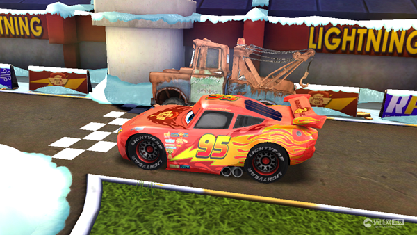 《赛车总动员:急速闪电 Cars Fast as Lightning》游戏截图