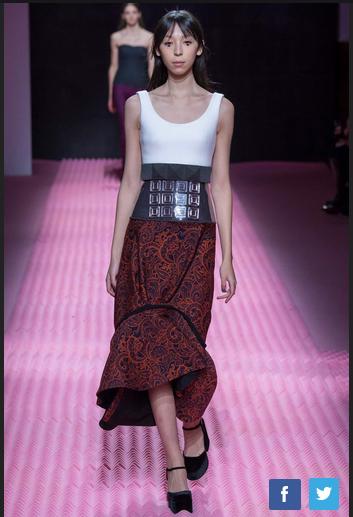 2015年秋冬伦敦时装周:Mary Katrantzou品牌秀场