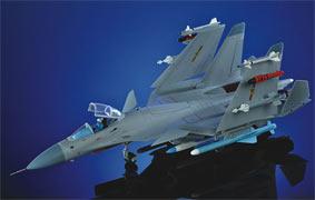 1:48超精细版 歼15飞鲨战斗机模型
