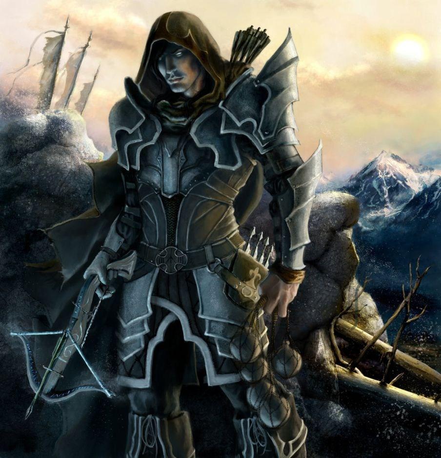暗黑3猎魔人主题玩家作品赏
