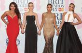 2015年全英音乐奖红毯:霉霉刺绣长裙玩中国风