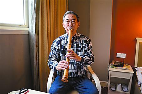 日本尺八大师神崎宪病逝 将绝技传归中国