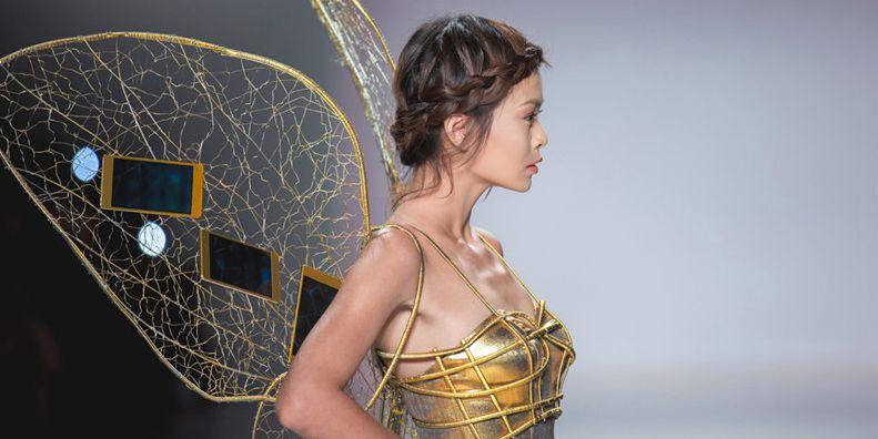 惊艳!金色OPPO R5打造纽约时装周梦幻之旅