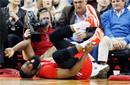 脚踝依旧胀痛哈登缺席训练 下战打篮网出场成疑