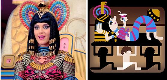 古埃及法老王王后-是一位埃及法老皇后,服饰和发型和漫画中的女主惊人的一致.大图片