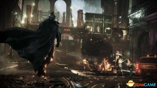 《蝙蝠侠:阿卡姆骑士》跳票原因 游戏规模要够大