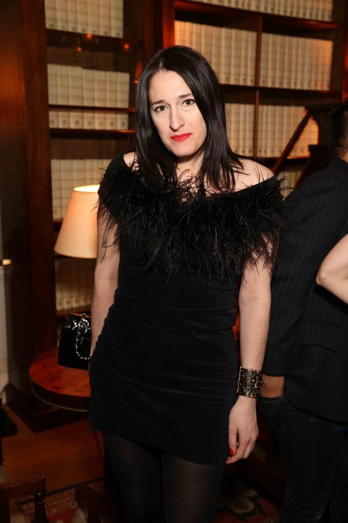 伦敦名流的晚宴装:英国时装协会鸡尾酒会掠影