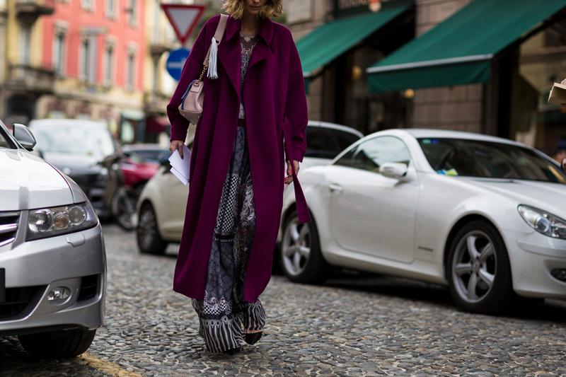 秀场之外也有时装周:路人街拍潮爆米兰冬天