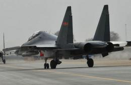 中国空军苏30春节后利剑出鞘
