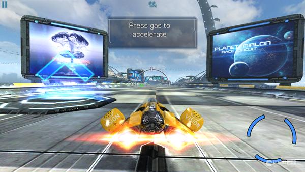 《AG飞车 AG Drive》游戏截图