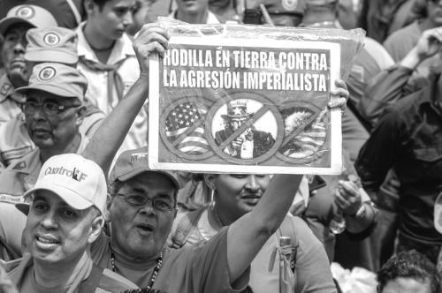 """委内瑞拉公布美国政要黑名单 严防""""间谍活动"""""""