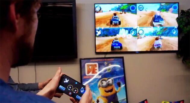 安卓设备现在可以当Android TV 的游戏控制器用了!
