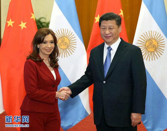 """阿根廷总统称批评中国的人""""愚蠢且思维狭隘"""""""