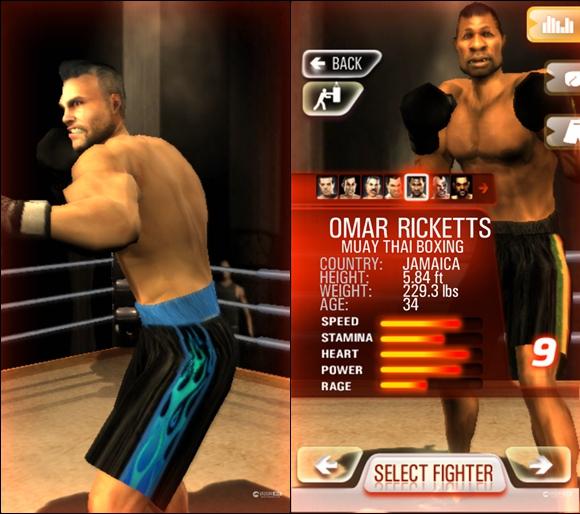 《铁拳拳击》游戏截图
