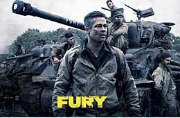 二战大片狂怒首映:坦克世界震撼大厮杀