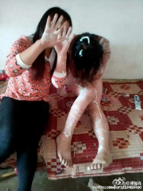 云南文山一16岁女生遭同学围殴被迫拍裸照(组图)