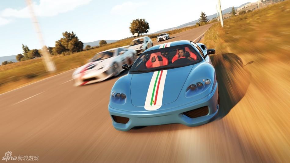 《极限竞速:地平线2》游戏画面