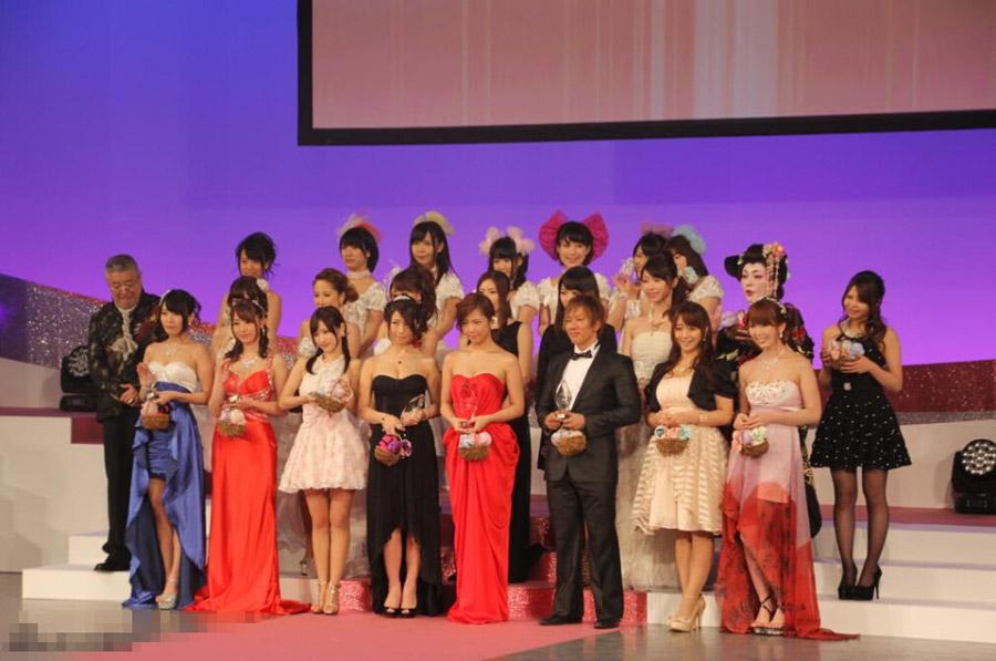 2015日本AV颁奖盛典 波多野结衣现身助阵