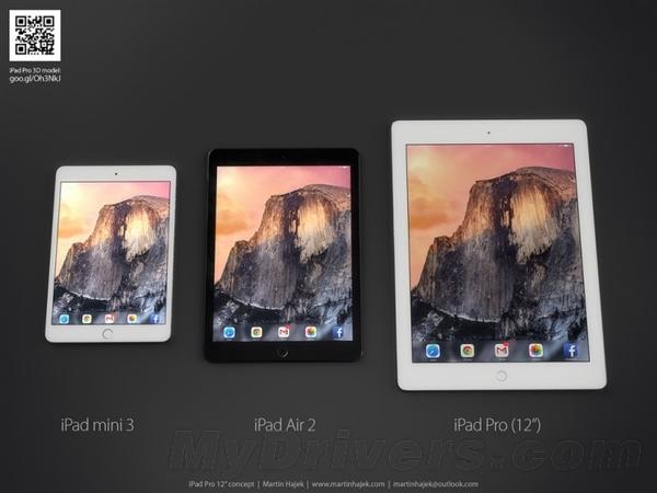iPad Pro屏幕