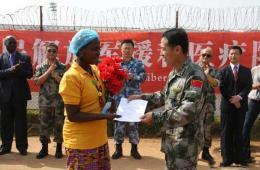 利比里亚最后一名埃博拉患者在中国治疗中心康复出院