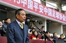 蔡振华宣布2015中超开幕 恒大等队球迷到场遭嘘
