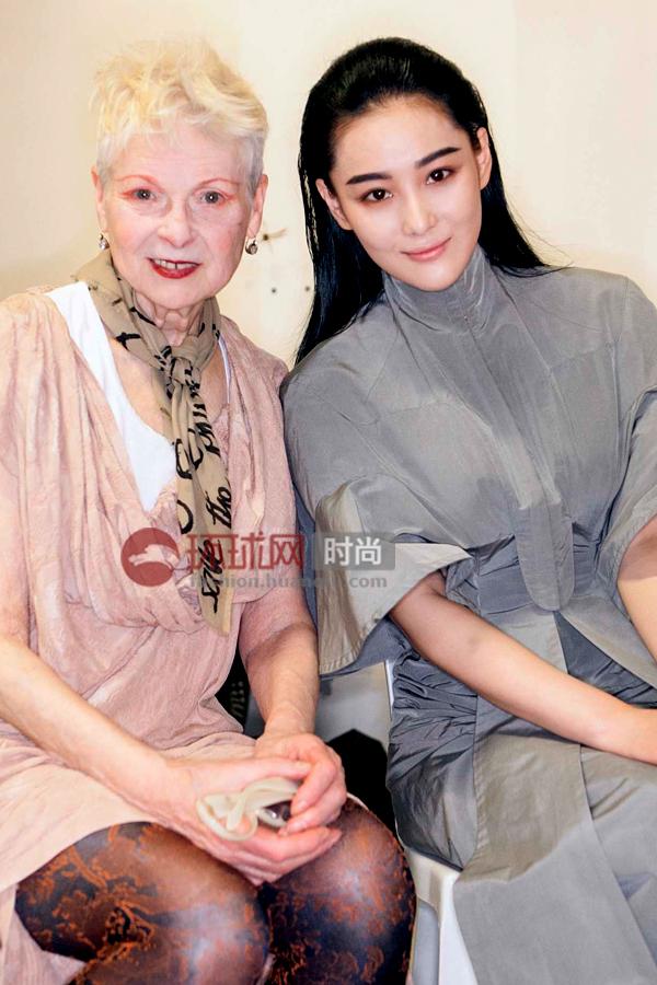 张馨予与西太后Vivienne Westwood 气质女神深度对话