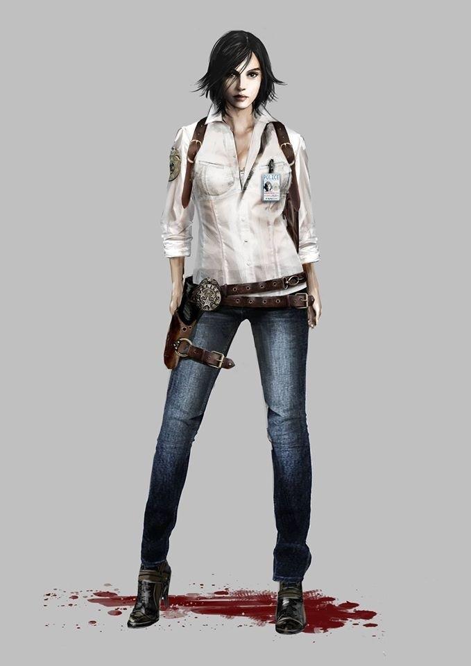 """《恶灵附身》""""任务""""DLC设定图赏 美女警探身材棒"""
