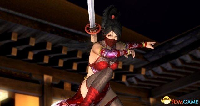 《死或生5:最后一战》忍者服新图 大波妹穿透视装
