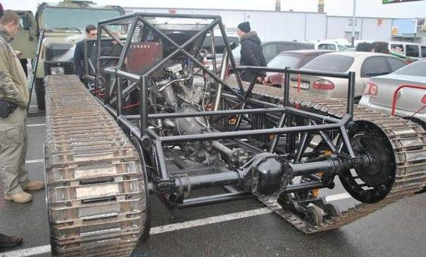 乌克兰造出新型履带式突击车
