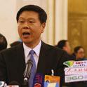 杨传堂、李立国等部委负责人在人民大会堂接受采访