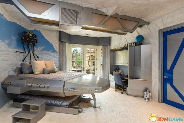 组图:价值1490万美金的《星球大战》主题豪宅