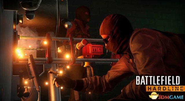 《战地:硬仗》游戏新截图 警匪拼死一战场面火爆