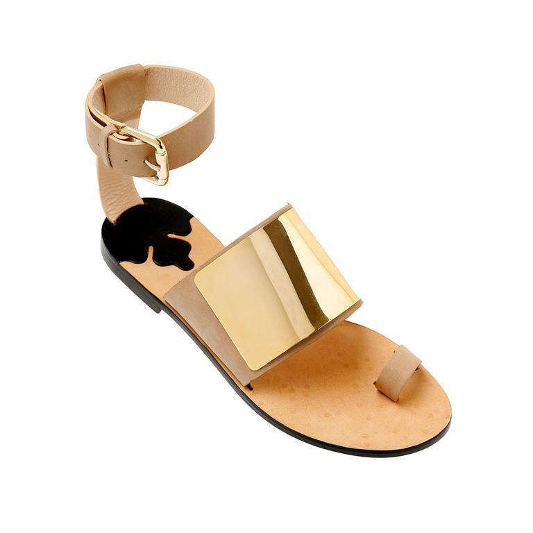 15夏季女鞋新趋势:金色奢华都市风强势来袭