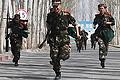 新疆哈密边防支队直属机动队现场选拔现场(图)