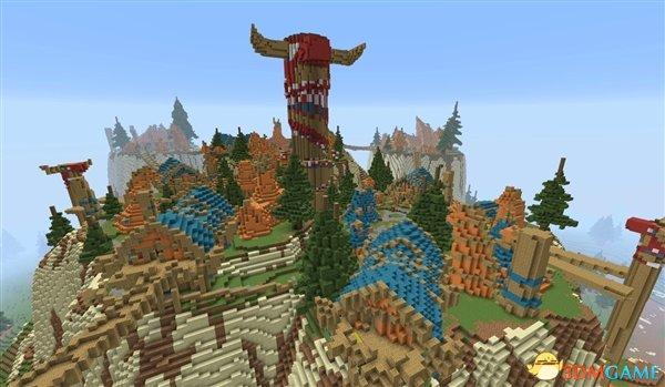 叹服 玩家用《我的世界》还原《魔兽世界》地图