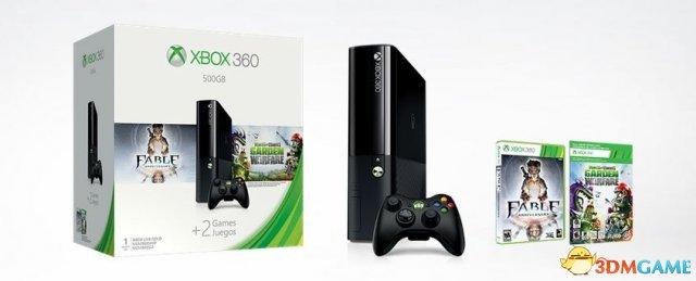 老机依然坚挺 微软Xbox 360再推春季特惠同捆套餐