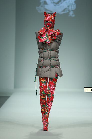 2015年中国国际时装周 设计师胡社光秀