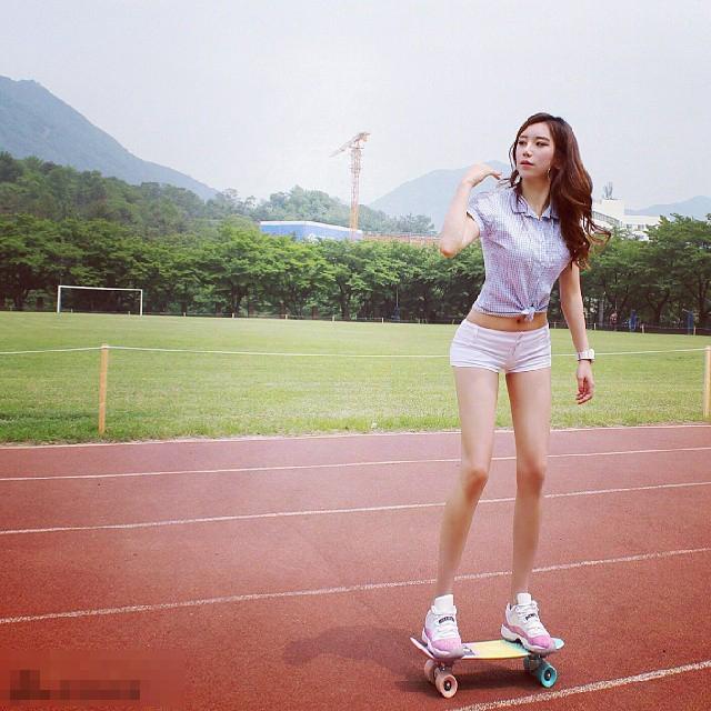 韩国美女健身教练海量私照