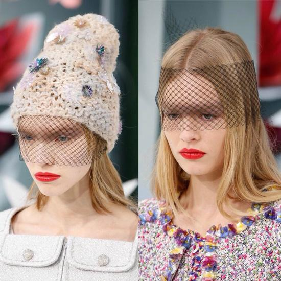 90秒知道 最美博主Chiara原来最爱网纱帽