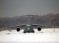 日本CX-2运输机雪地滑行