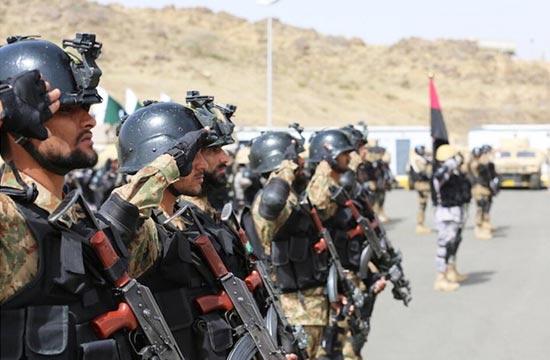 巴基斯坦特种部队赴沙特军演