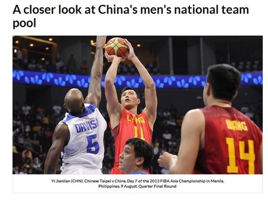 FIBA:男篮仅阿联锁定位置 表现影响世界篮坛地位
