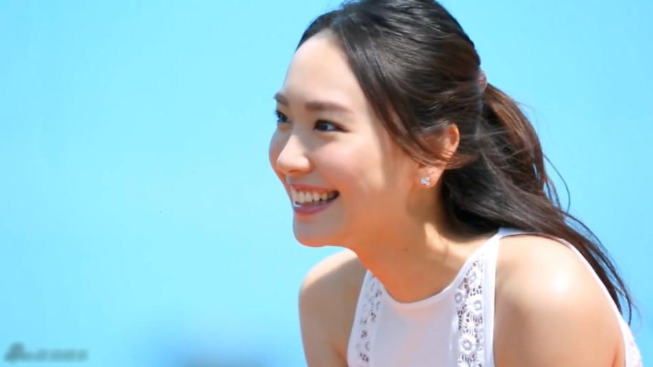笑容美女头像 灿烂