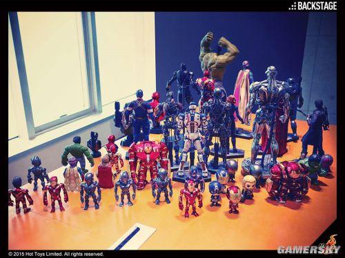 《复仇者联盟2:奥创纪元》Hot Toy模型展海量图赏