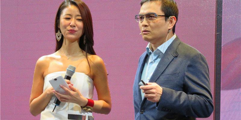 HTC发布全新HTC One系列旗舰手机 林心如到场助阵