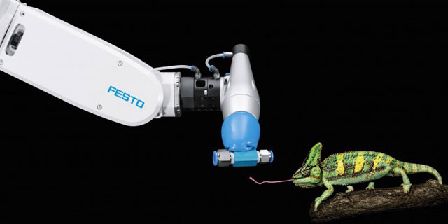 动物仿生机器人:灵感来自蚂蚁蝴蝶与变色龙