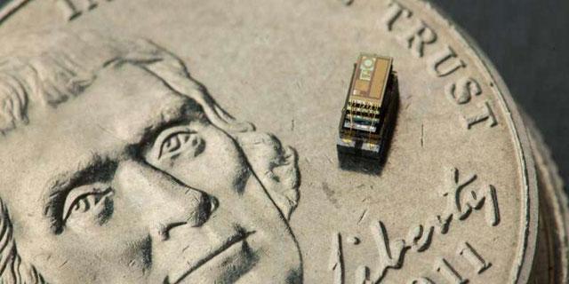 世界最小计算机问世:一粒米大小智能传感系统