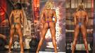 德国举办女子比基尼健美大赛