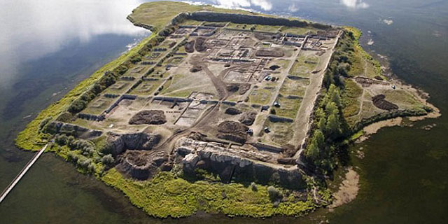 俄罗斯现中式风格千年古城遗址:建弃原因成谜